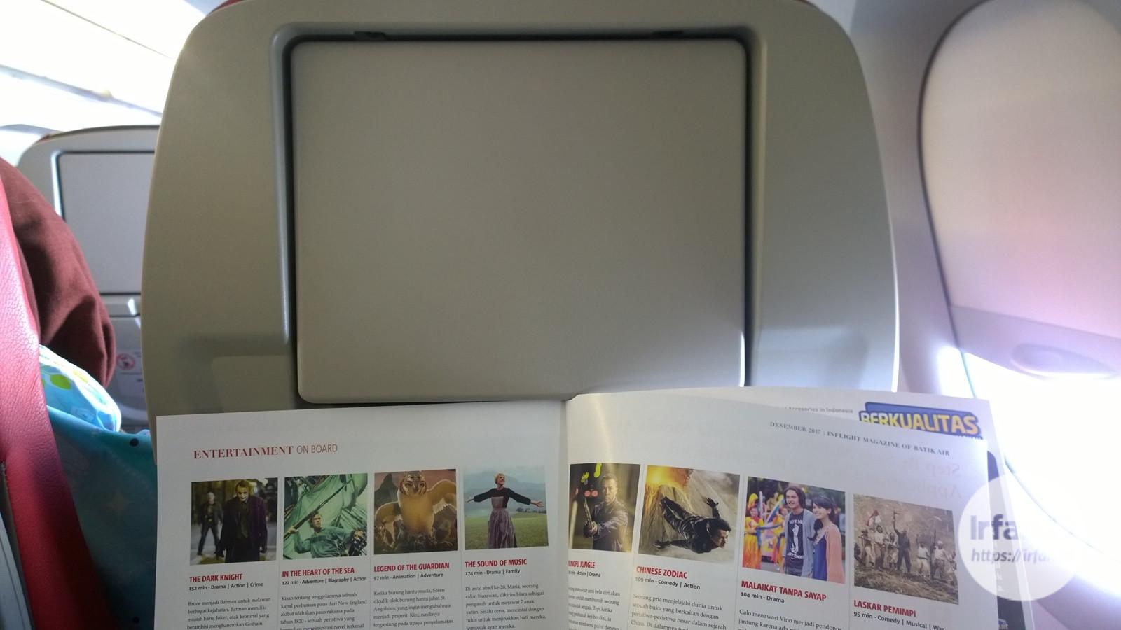 Pengalaman Terbang Dengan Batik Air (Update 6/12/17) 2