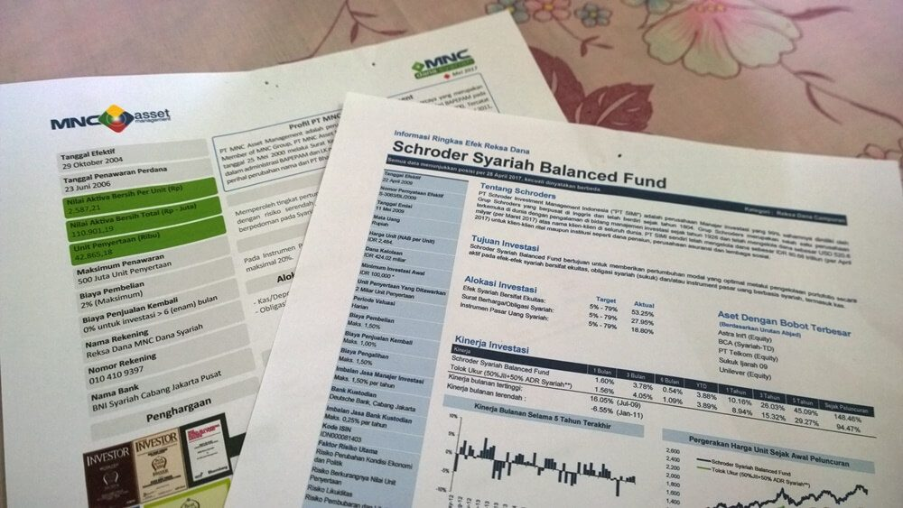 fund fact sheet