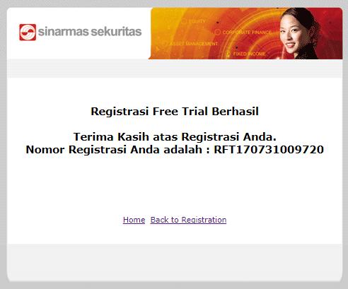 """Cara Daftar Akun """"Free Trial"""" Sinarmas Sekuritas, Mencoba Simas.Net 7"""