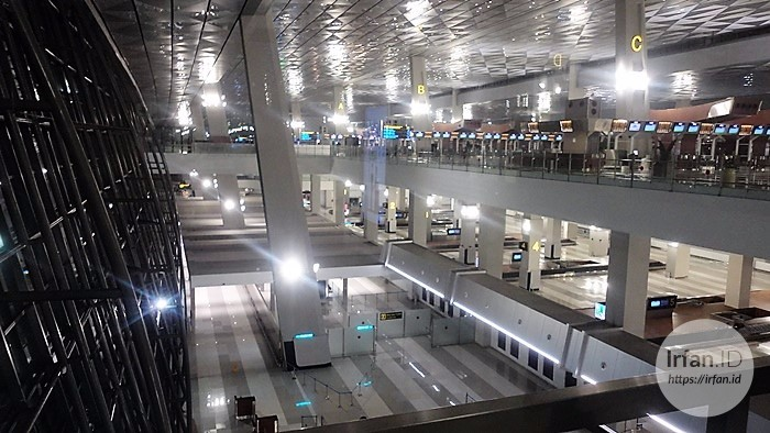 FOTO: Melihat Megahnya Terminal 3 Soekarno-Hatta, Bandara Rasa Mall 11