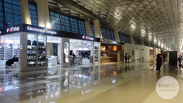 FOTO: Melihat Megahnya Terminal 3 Soekarno-Hatta, Bandara Rasa Mall 7