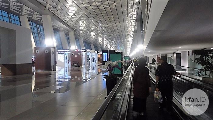 FOTO: Melihat Megahnya Terminal 3 Soekarno-Hatta, Bandara Rasa Mall 8