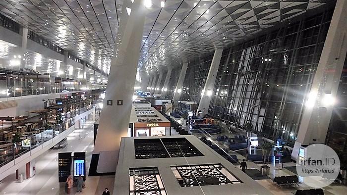 FOTO: Melihat Megahnya Terminal 3 Soekarno-Hatta, Bandara Rasa Mall 14
