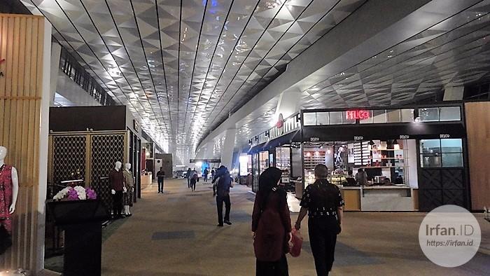 FOTO: Melihat Megahnya Terminal 3 Soekarno-Hatta, Bandara Rasa Mall 6