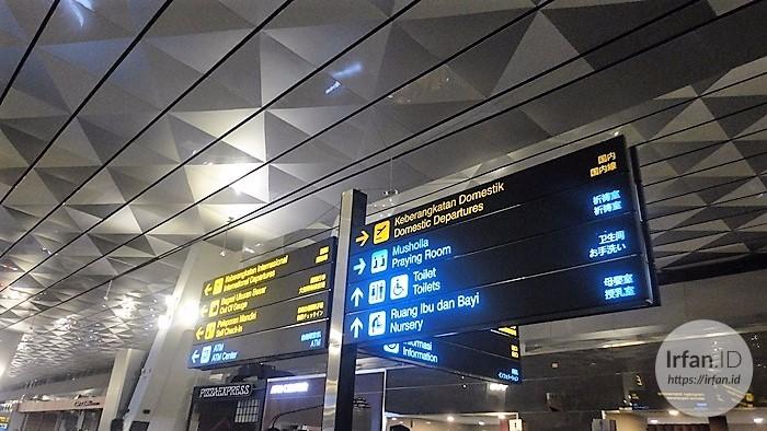 FOTO: Melihat Megahnya Terminal 3 Soekarno-Hatta, Bandara Rasa Mall 3
