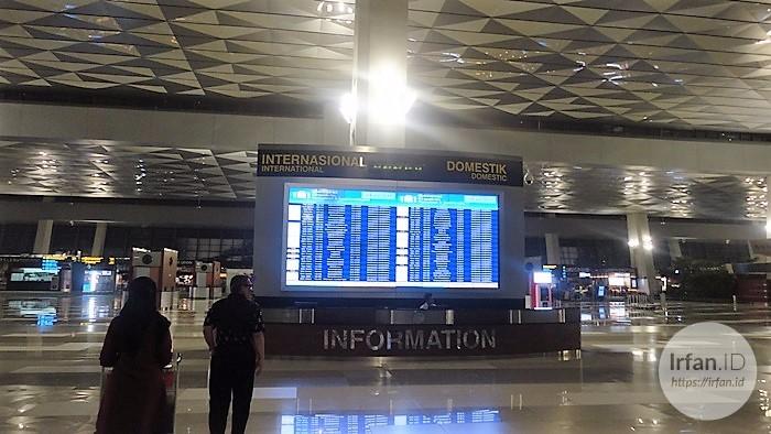 FOTO: Melihat Megahnya Terminal 3 Soekarno-Hatta, Bandara Rasa Mall 1