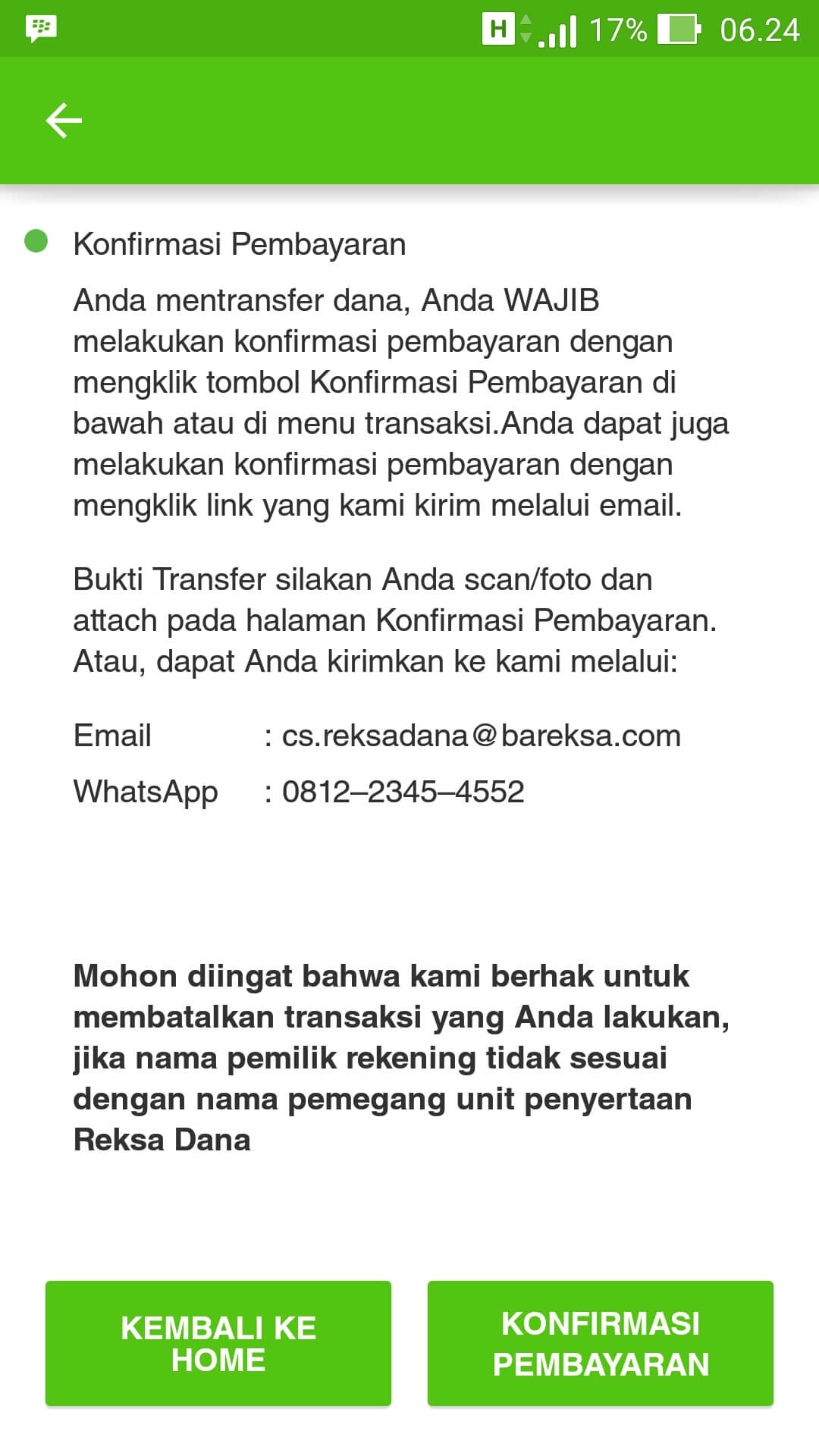 Cara Beli Reksa Dana Bareksa Melalui Website Dan Aplikasi (UPDATE: 21/4/2020) 34