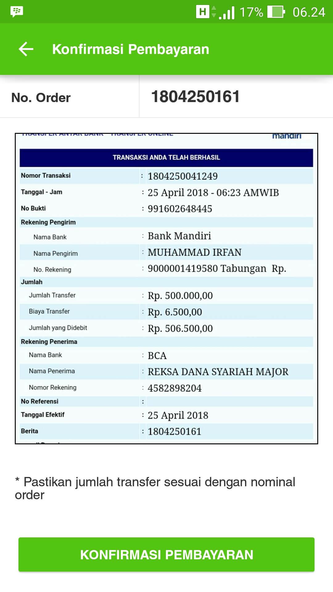Cara Beli Reksa Dana Bareksa Melalui Website Dan Aplikasi (UPDATE: 21/4/2020) 39
