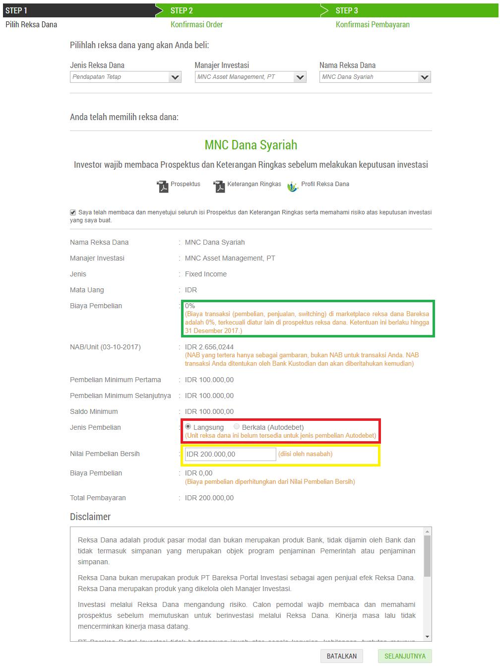 Cara Membeli Reksa Dana Di Bareksa Melalui Website Dan Aplikasi (Update 25/4/18) 2