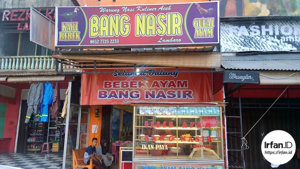 Foto Pagi Pagi Goyang Lidah Di Warung Nasi Kuliner Aceh