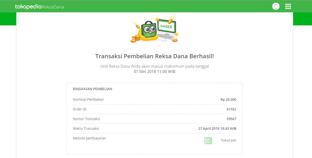 Cara Membeli Reksa Dana Di Tokopedia Reksa Dana, Mulai Dari Rp 10.000 (Update 17/12/19) 27