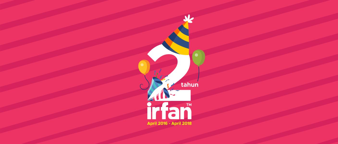 Happy Anniversary 2 Tahun Blog Irfan™ 1