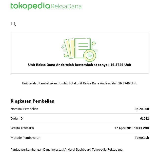 Cara Membeli Reksa Dana Di Tokopedia Reksa Dana, Mulai Dari Rp 10.000 (Update 17/12/19) 30