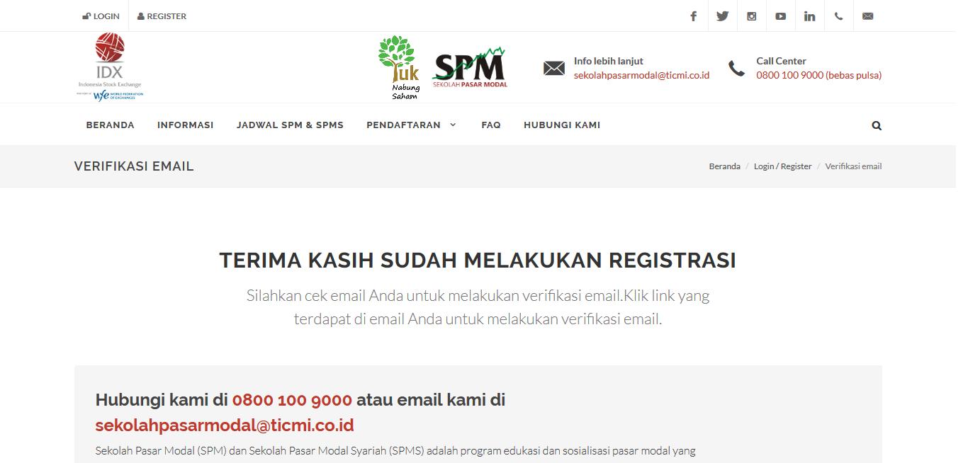 Cara Mendaftar Dan Ikut Sekolah Pasar Modal Online 3