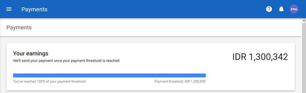 #1YearWithGoogleAdsense: Payout Pertama Dan Payout Kedua (Update 27/11/18) 6