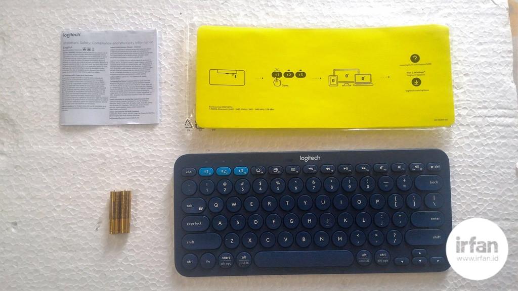 REVIEW: Logitech K380, Keyboard Bluetooth Yang Serba Bisa 15