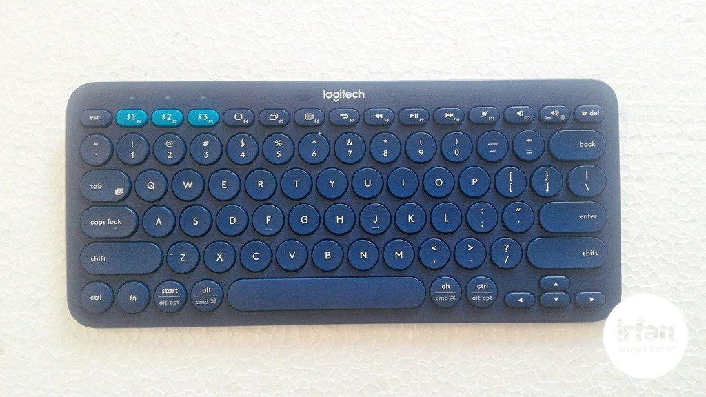 REVIEW: Logitech K380, Keyboard Bluetooth Yang Serba Bisa 16