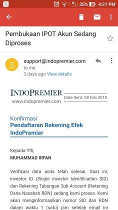 1 Jam Langsung Jadi, Cara Daftar Akun Indo Premier Sekuritas + Cara Beli Saham (UPDATE: 28/7/20) 6