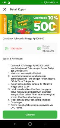 Pengalaman Beli Emas Batangan Di Tokopedia, Dapat CASHBACK Rp 500,000 1
