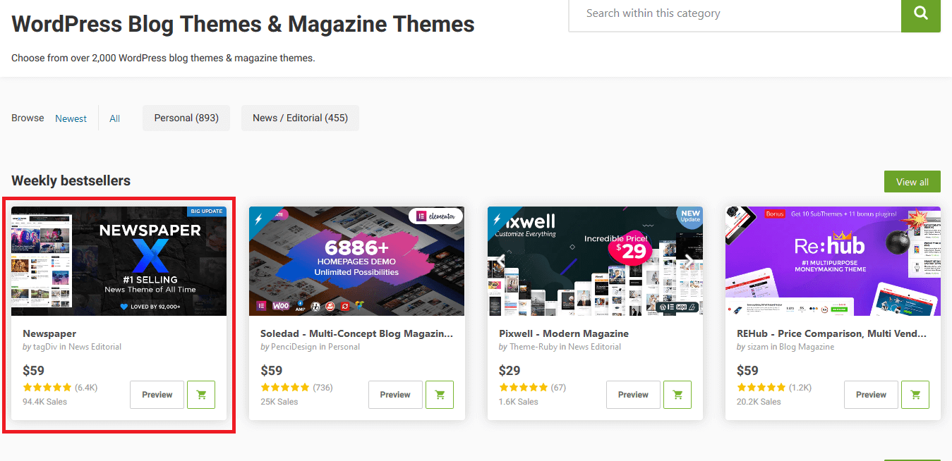 STEP BY STEP: Cara Beli Tema di Themeforest dan Install ke Blog WordPress 31