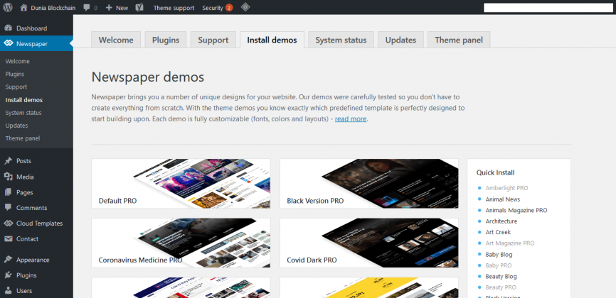 STEP BY STEP: Cara Beli Tema di Themeforest dan Install ke Blog WordPress 49