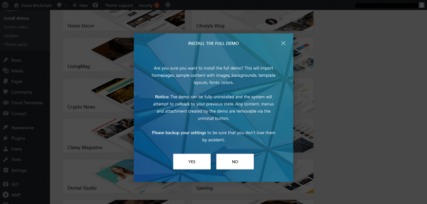 STEP BY STEP: Cara Beli Tema di Themeforest dan Install ke Blog WordPress 51