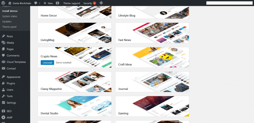 STEP BY STEP: Cara Beli Tema di Themeforest dan Install ke Blog WordPress 50