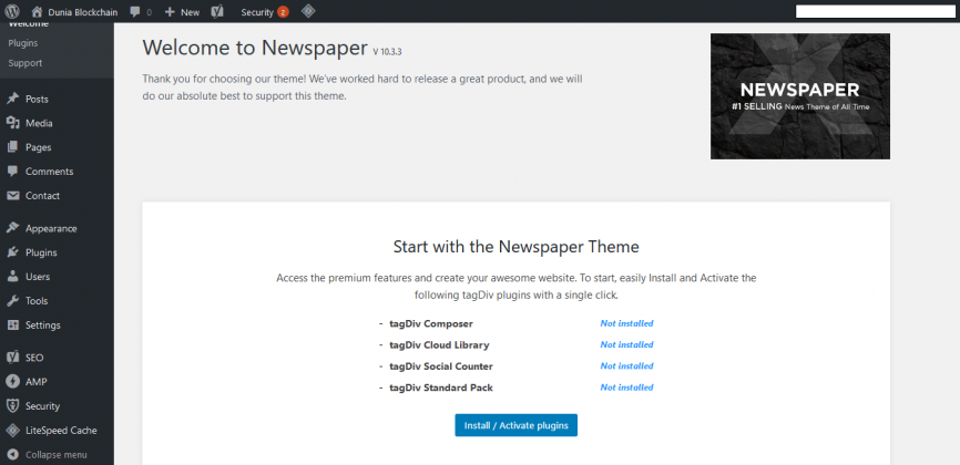 STEP BY STEP: Cara Beli Tema di Themeforest dan Install ke Blog WordPress 43
