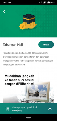 Tips Memilih dan Pengalaman Buka Tabungan Haji Terbaik 2021 yang Terhubung SISKOHAT 6