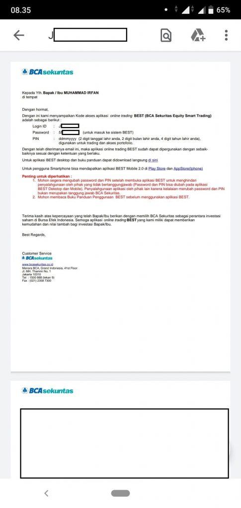 BCA Sekuritas: Cara Mendaftar dan Beli Jual Saham via Aplikasi BCAS BEST Mobile 2.0 (UPDATE: 4/8/20) 55
