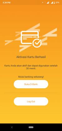 REVIEW: Pengalaman Buka Tabungan D-SAVE iB Online di Aplikasi D-Bank 26