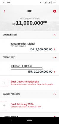 Pengalaman Deposito Syariah Rp 10 Juta di OCBC NISP via Aplikasi ONe Mobile (UPDATE: 2/8/20) 31