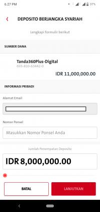 Pengalaman Deposito Syariah Rp 10 Juta di OCBC NISP via Aplikasi ONe Mobile (UPDATE: 2/8/20) 23