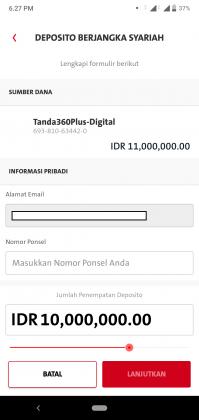 Pengalaman Deposito Syariah Rp 10 Juta di OCBC NISP via Aplikasi ONe Mobile (UPDATE: 2/8/20) 24