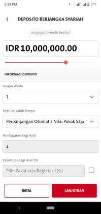 Pengalaman Deposito Syariah Rp 10 Juta di OCBC NISP via Aplikasi ONe Mobile (UPDATE: 2/8/20) 27