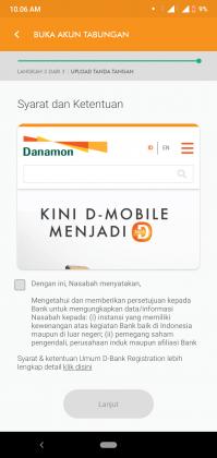REVIEW: Pengalaman Buka Tabungan D-SAVE iB Online di Aplikasi D-Bank 15