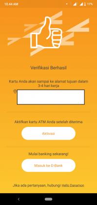 REVIEW: Pengalaman Buka Tabungan D-SAVE iB Online di Aplikasi D-Bank 19