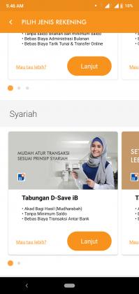REVIEW: Pengalaman Buka Tabungan D-SAVE iB Online di Aplikasi D-Bank 4
