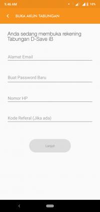 REVIEW: Pengalaman Buka Tabungan D-SAVE iB Online di Aplikasi D-Bank 5
