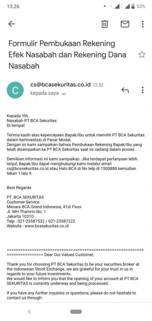 BCA Sekuritas: Cara Mendaftar dan Beli Jual Saham via Aplikasi BCAS BEST Mobile 2.0 (UPDATE: 4/8/20) 49