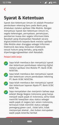 REVIEW: Pengalaman Buka Tabungan OCBC NISP Online di Aplikasi ONe Mobile 2