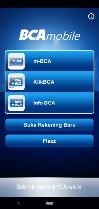 Daftar Rekening BCA