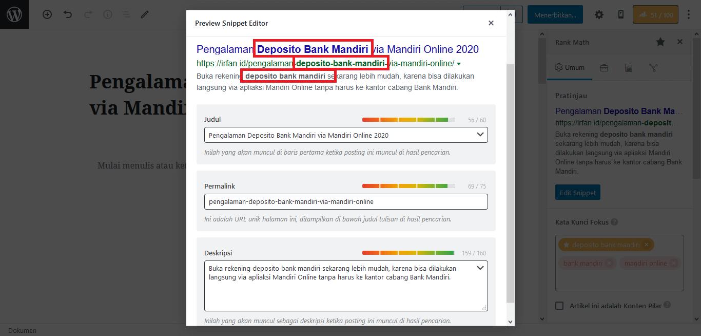 STEP BY STEP: 8 Cara Membuat Artikel Blog Masuk Halaman Pertama Google (CASE STUDY) 10