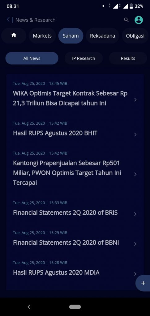 IPOT, Super App dari Indo Premier yang Bisa Investasi Sekaligus Atur Keuangan 18