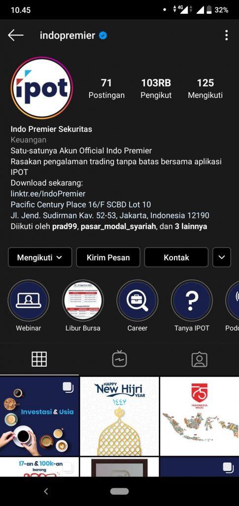 IPOT, Super App dari Indo Premier yang Bisa Investasi Sekaligus Atur Keuangan 26
