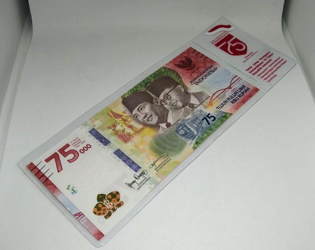 Uang baru 75 ribu