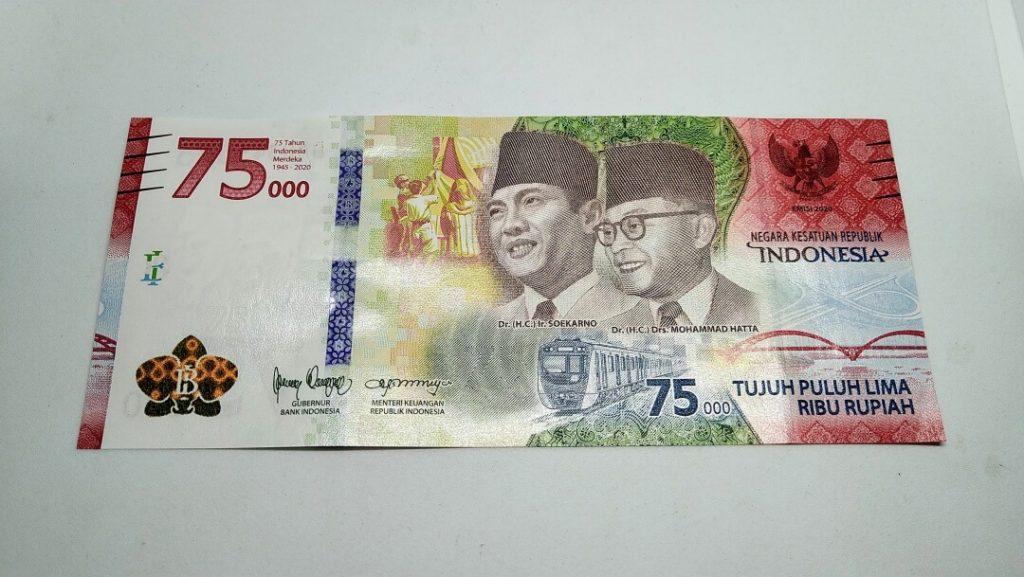 Uang baru 75 ribu tampilan