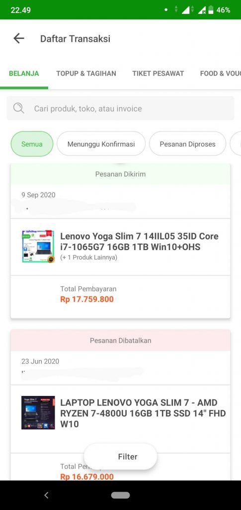UNBOXING & REVIEW: Pengalaman 1 Bulan Lebih Pakai Lenovo Yoga Slim 7 (UPDATE: 07/11/20) 13