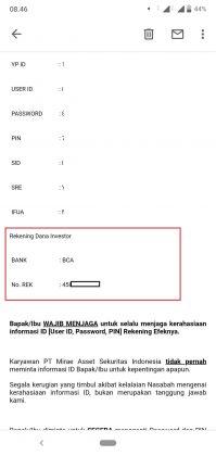 Deposit RDN Mirae