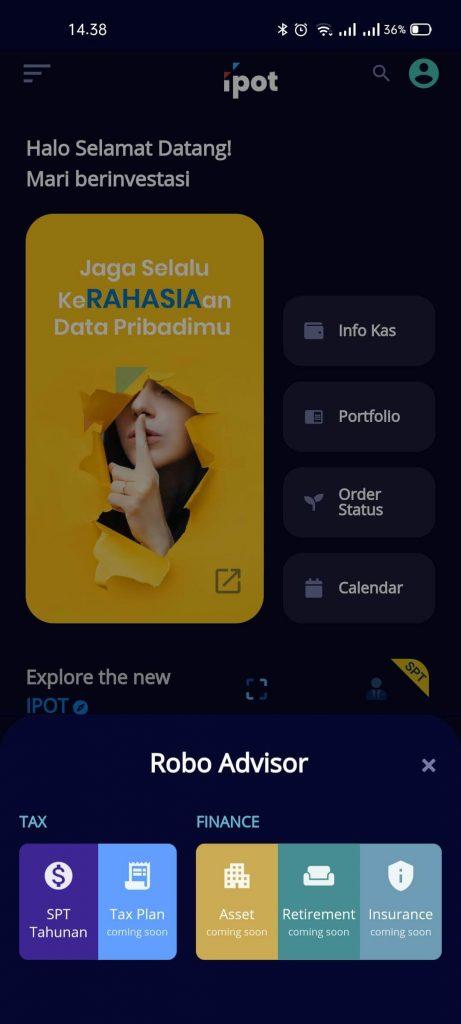 IPOT, Super App dari Indo Premier yang Bisa Investasi Sekaligus Atur Keuangan (UPDATE: 18/2/21) 12